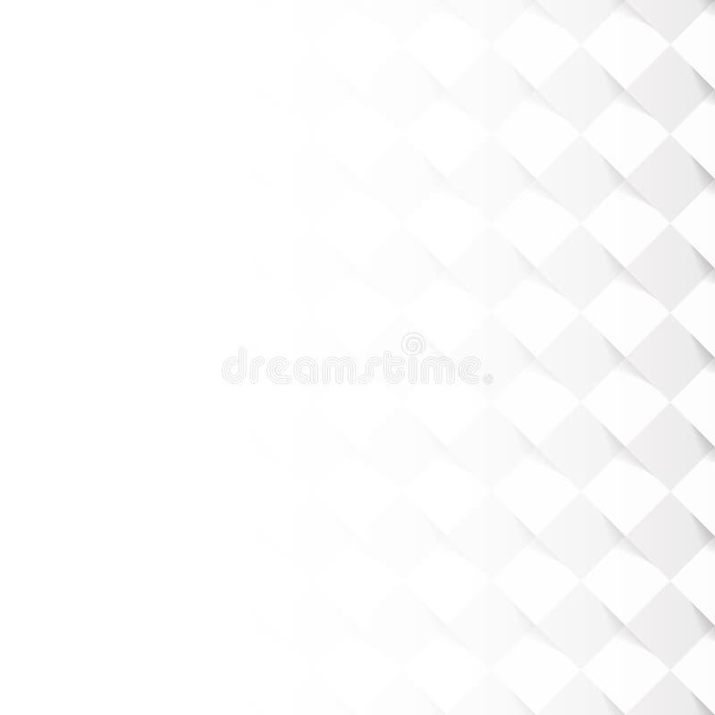 Patroon met grijze vierkante tegels royalty-vrije illustratie