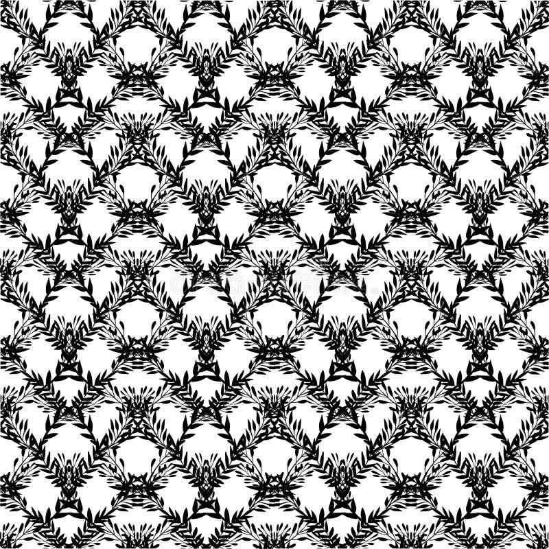 Patroon met takken vector illustratie