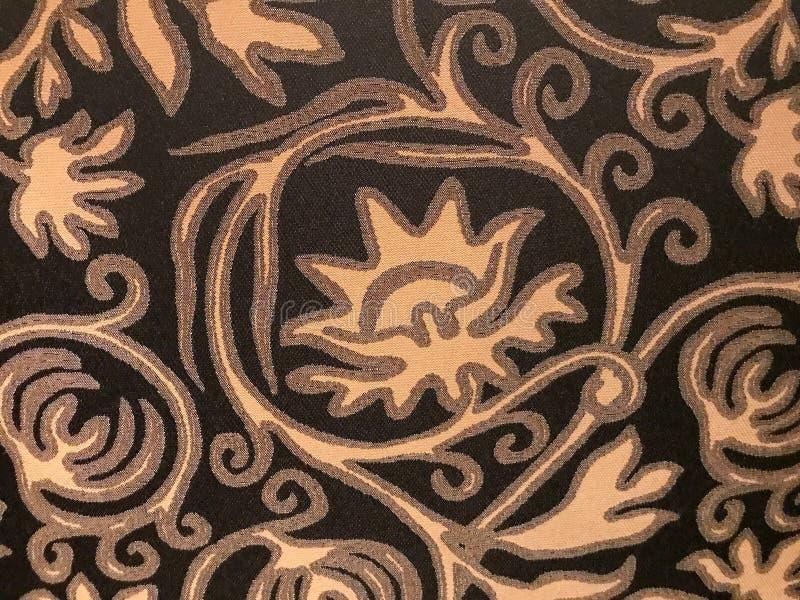 Patroon, samenvatting, tan, lichtbruin, op donkere achtergrond royalty-vrije stock afbeelding