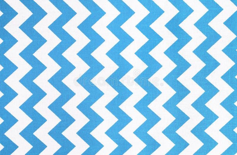 Patroon van blauwe en witte gestreepte glijdende bewegingen royalty-vrije stock afbeelding