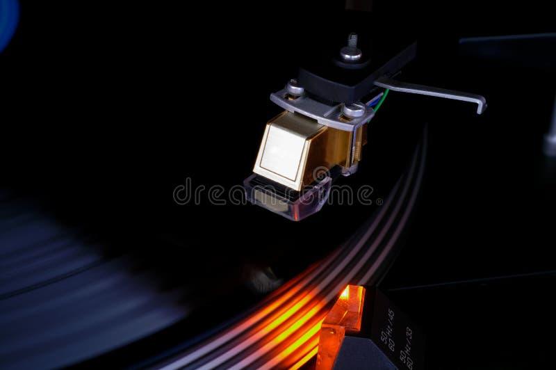 Patroon van de de schijfbestelwagen van de draaischijf de vinyl royalty-vrije stock afbeeldingen