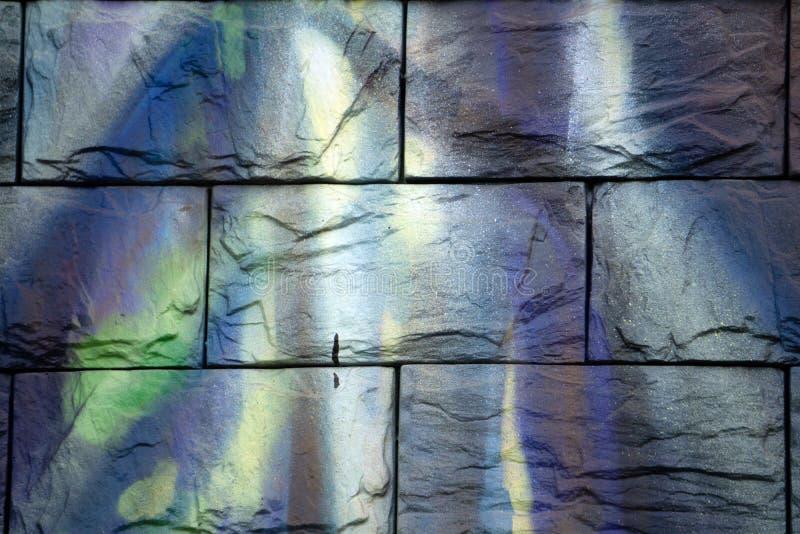 Patroon van de decoratieve vuile achtergrond van de steenmuur stock fotografie