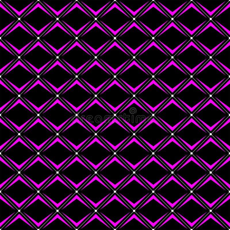 Patroon van de diagonalen het naadloze ontwerper in kleur drie vector illustratie