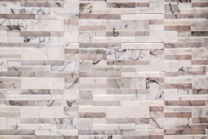 Patroon van decoratieve witte de muuroppervlakte, achtergrond en textuur van de leisteen royalty-vrije stock afbeeldingen