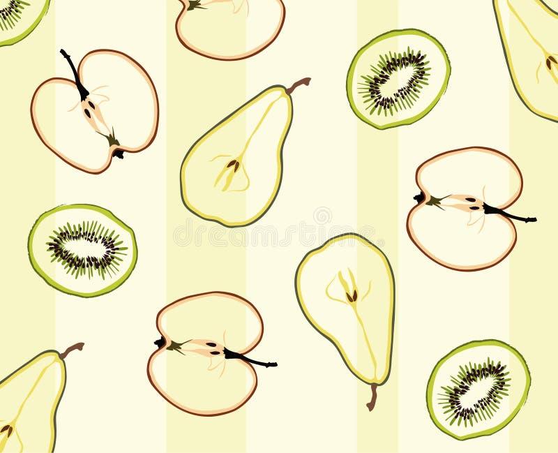 Download Patroon van fruit vector illustratie. Illustratie bestaande uit achtergrond - 10775257