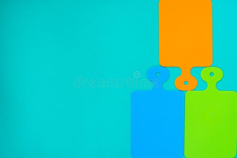 Patroon van gekleurde scherpe raad stock afbeeldingen