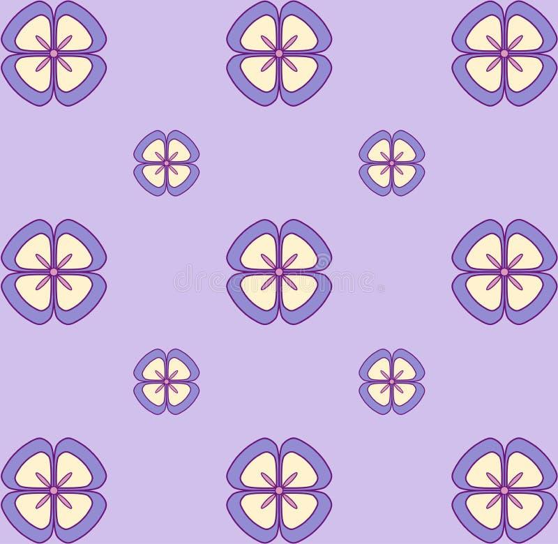 Patroon van het Behang van de pastelkleur het Naadloze Bloemen Naadloze VectorTextuur Elegant malplaatje voor manierdrukken ultra stock foto's
