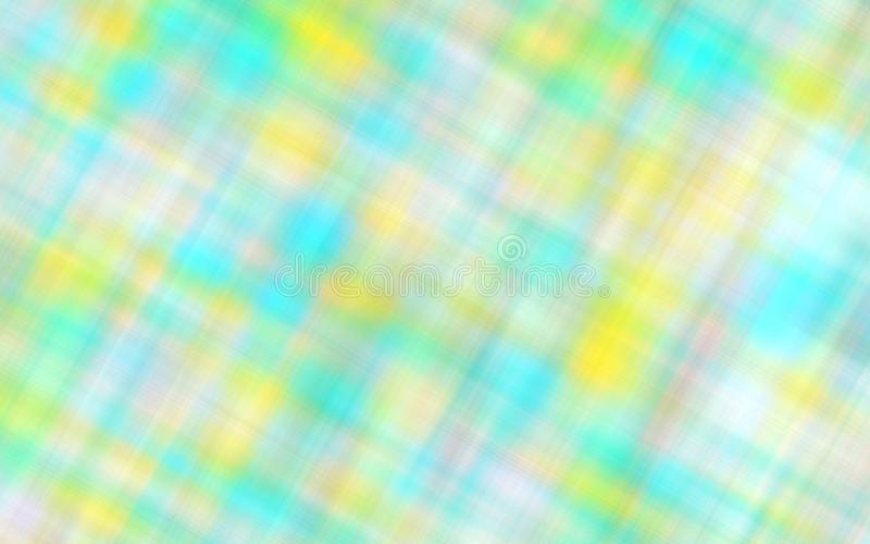 Patroon van het Defocused multicolored servet als abstracte achtergrond royalty-vrije illustratie