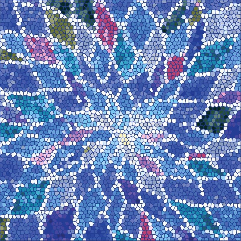 Patroon van kleurrijke abstracte geometrische vormen royalty-vrije illustratie