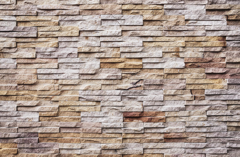 Patroon van Moderne Bakstenen muur stock foto's