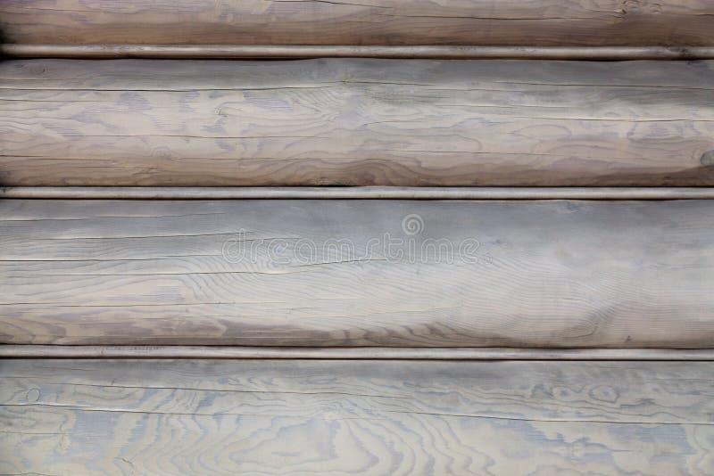 Patroon van oude houten panelen Grijs-bruine panelenachtergrond royalty-vrije stock foto's