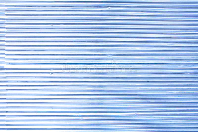 Patroon van rustieke zinkomheining in blauwe kleur royalty-vrije stock fotografie