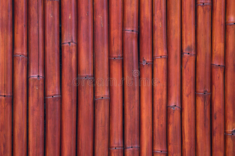 Patroon van uitstekend bamboepaneel stock fotografie