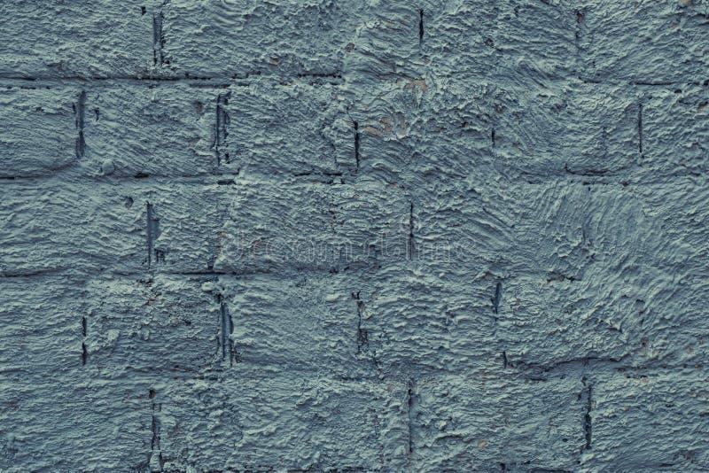Patroon van vlekken op grijze bakstenen muur Textuur van grijze en blauwe cementmuur Lichtgroene en grijze geweven concrete muur  royalty-vrije stock afbeeldingen