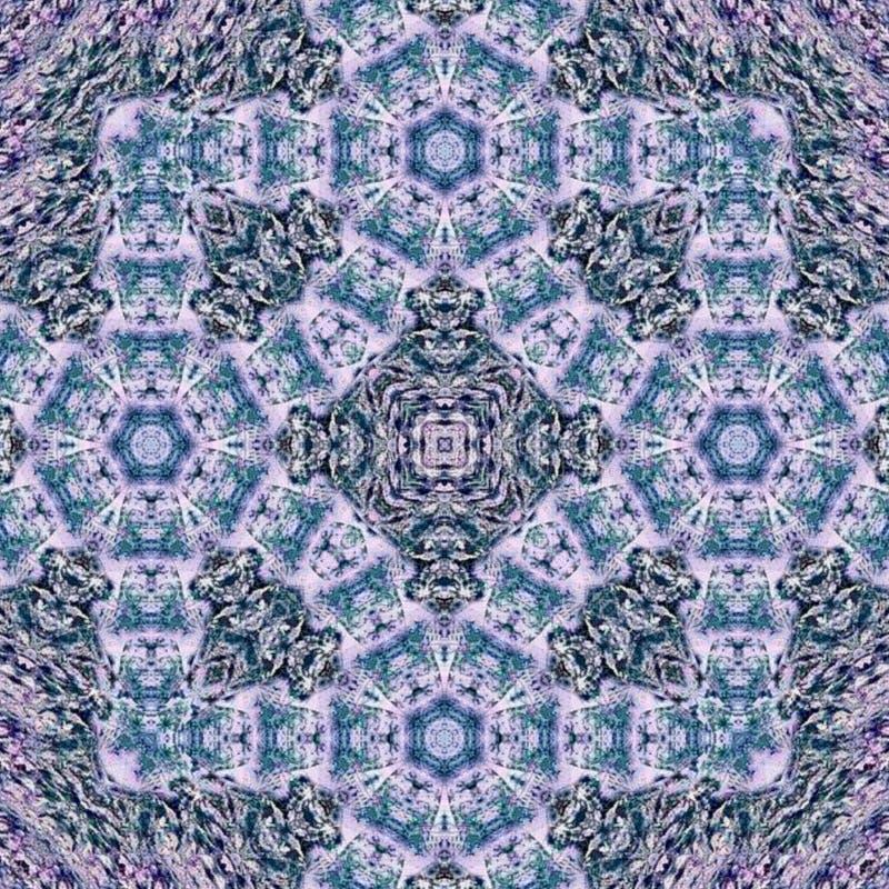Patroonillustratie in blauwe Portugese tegels of vierkant arabesqueeffect tapijt, sjaal, deken stock illustratie