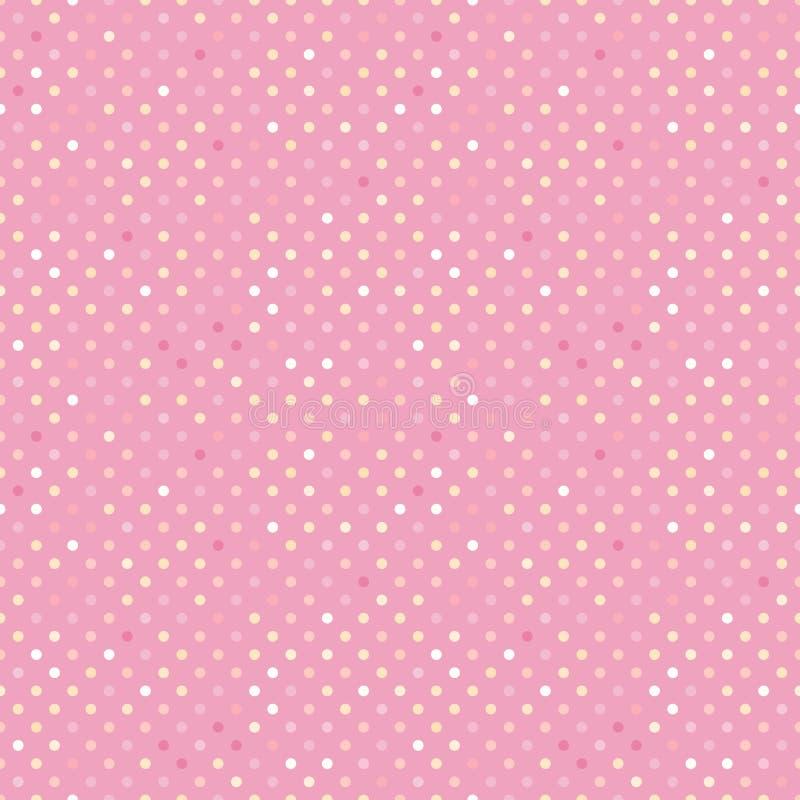 In patroonstip Vector op de achtergrond die van de tendenspastelkleur wordt geïsoleerd Concept die slijm tevredenstellen asmr stock illustratie