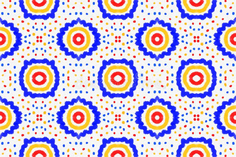 Patroontegel Modieus ontwerp stock afbeeldingen