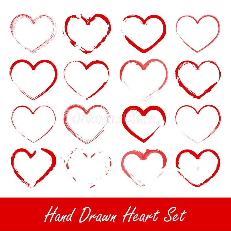patroszony ręki serca set