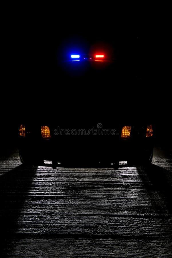 Patrouille de nuit photo libre de droits