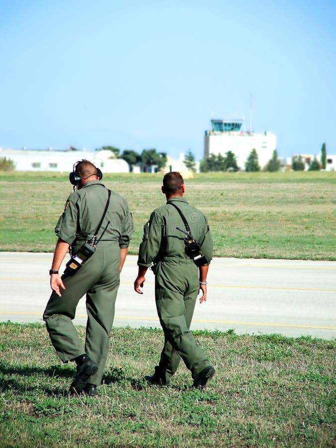 Patrouille de soldat photo libre de droits