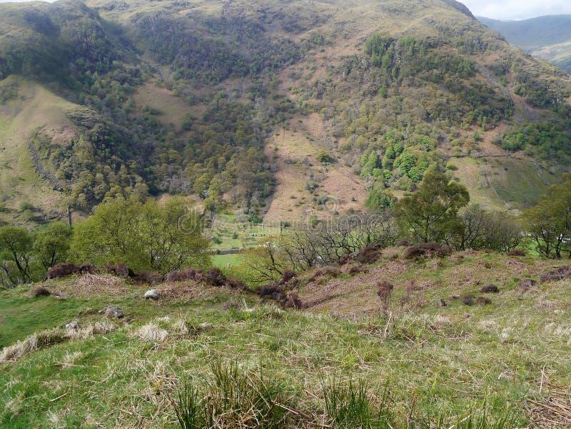 Patrzeć w dół dolina below zdjęcie royalty free