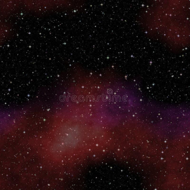 Patrzeć w głęboką przestrzeń Ciemny nocne niebo pełno gwiazdy zdjęcia royalty free