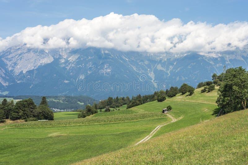 Patsch, к югу от Инсбрука, Австрия. стоковые фото
