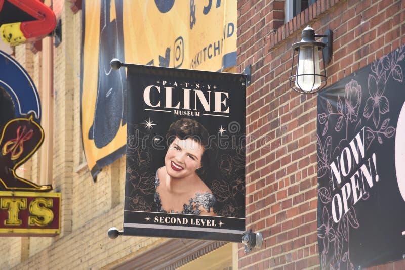 Patsy Cline Museum, Nashville Tennessee imagem de stock