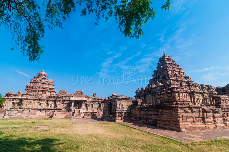Pattadakal-Tempel stockfotografie