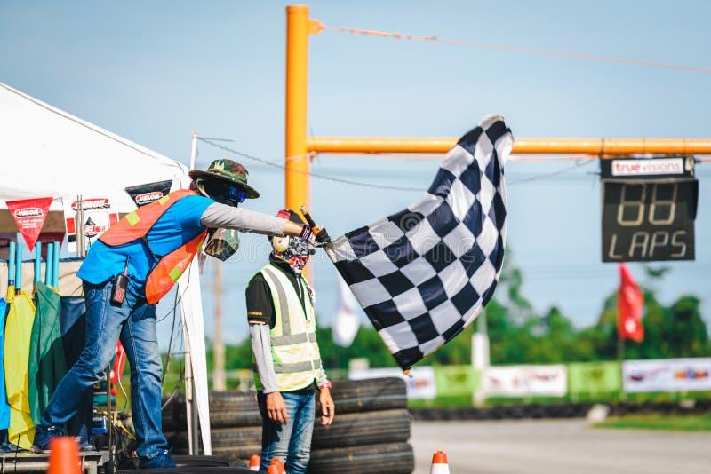 PATTATA, TAILÂNDIA 2 de setembro: O comitê da competição é wavin imagens de stock royalty free