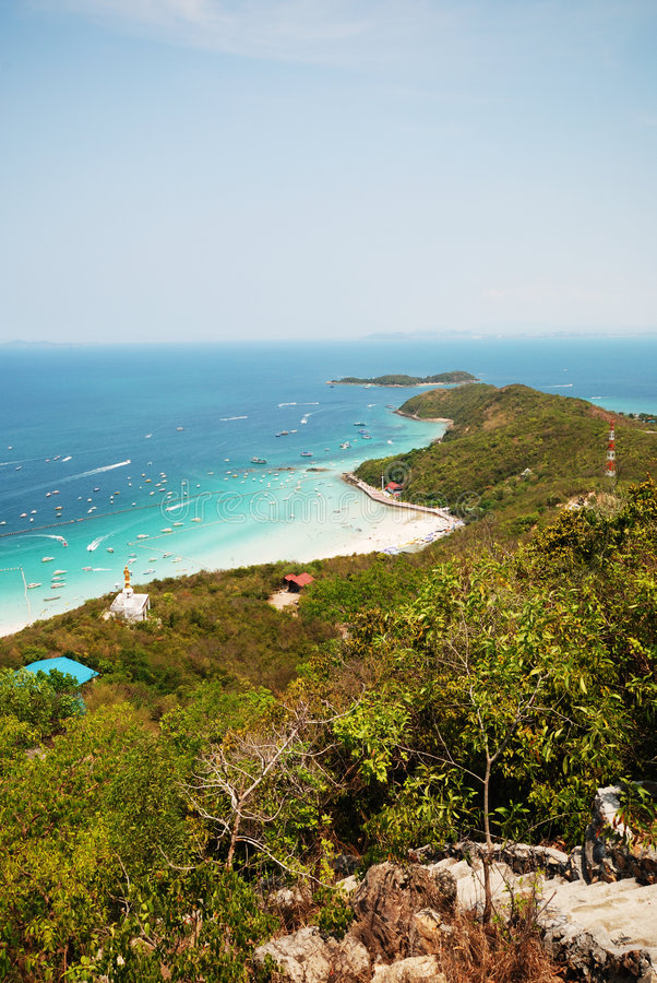 pattaya του τοπικού LAN 6 νησιών ko στοκ εικόνες