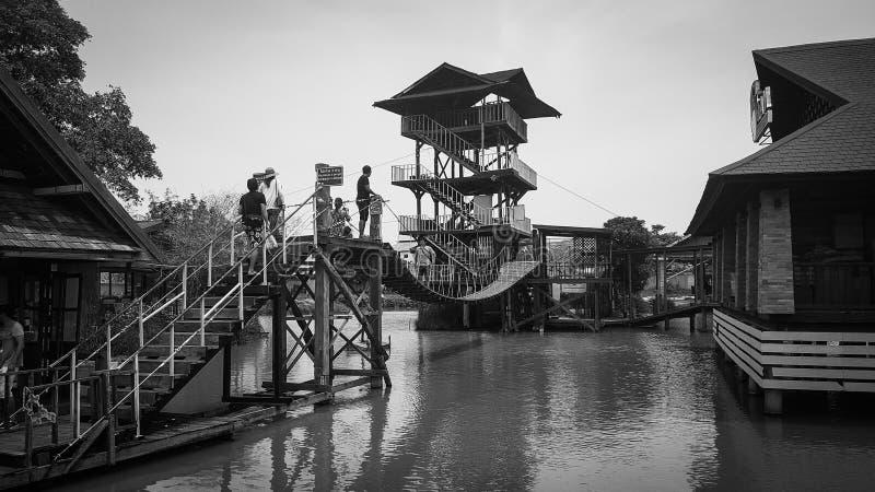 Pattaya floating market. Thailand stock images