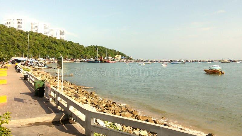Pattaya : Maleehay bay .Thailand royalty free stock images
