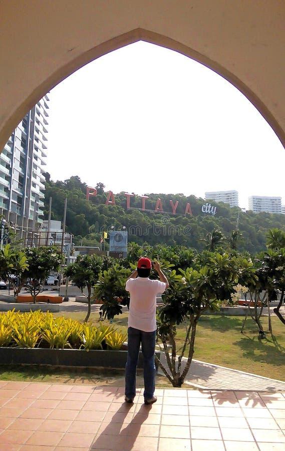 Pattaya : Maleehay bay .Thailand royalty free stock photos