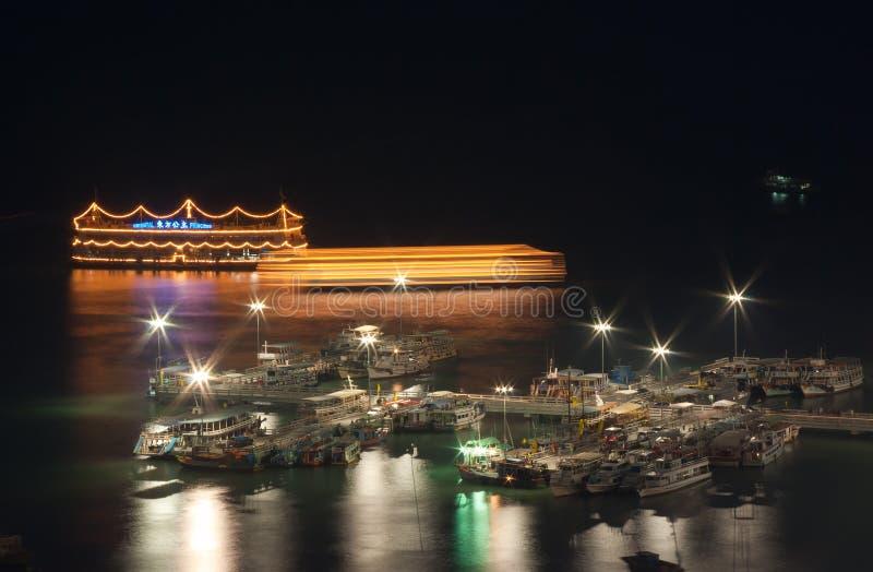 Pattaya miasta port fotografia stock