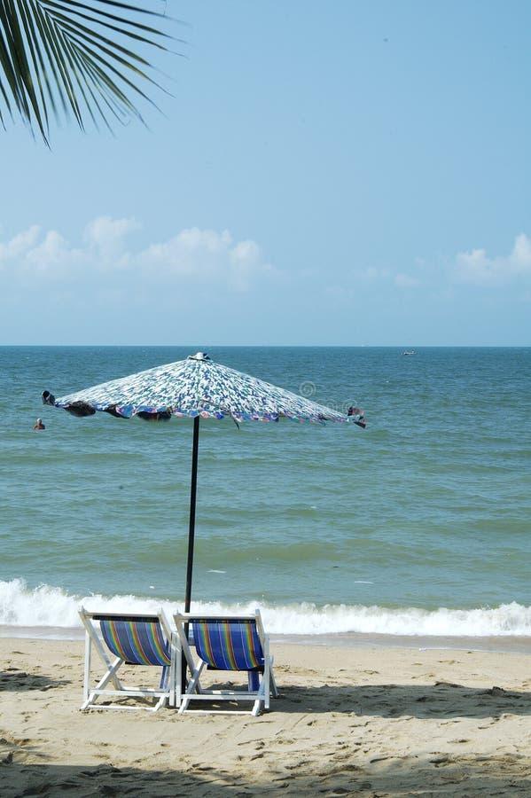 Pattaya na plaży zdjęcia royalty free