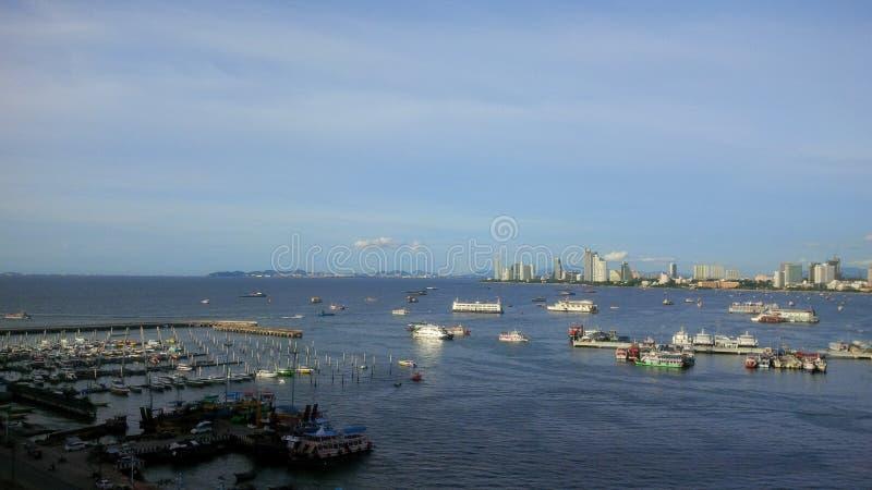 Pattaya siktspunkt arkivbilder