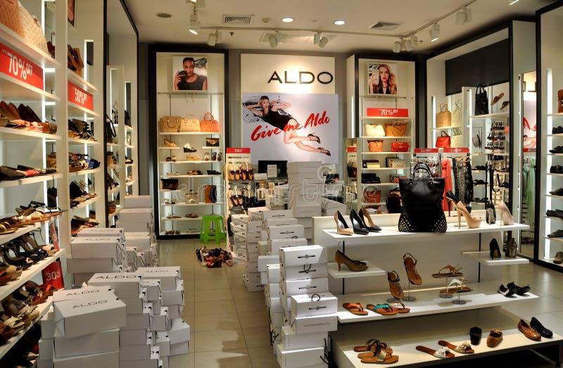 Pattaya, Tailandia: Aldo Boutique al centro commerciale di festival immagini stock libere da diritti