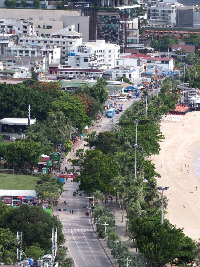 Pattaya, Tailandia l'8 giugno 2018 nel firew dell'internazionale di Pattaya immagine stock