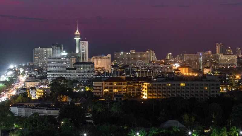 Pattaya Thailand royaltyfria bilder