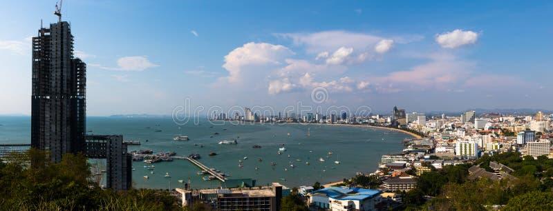 Pattaya Thailand royaltyfria foton