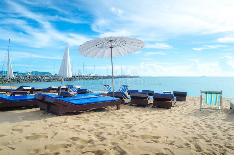 Pattayastrand Thailand stock afbeelding
