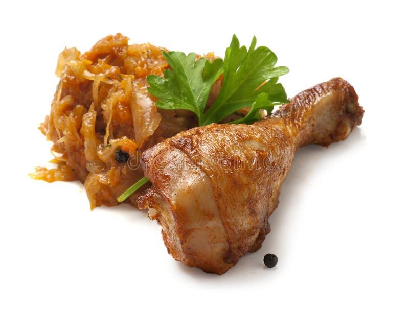 Patte de poulet photo libre de droits