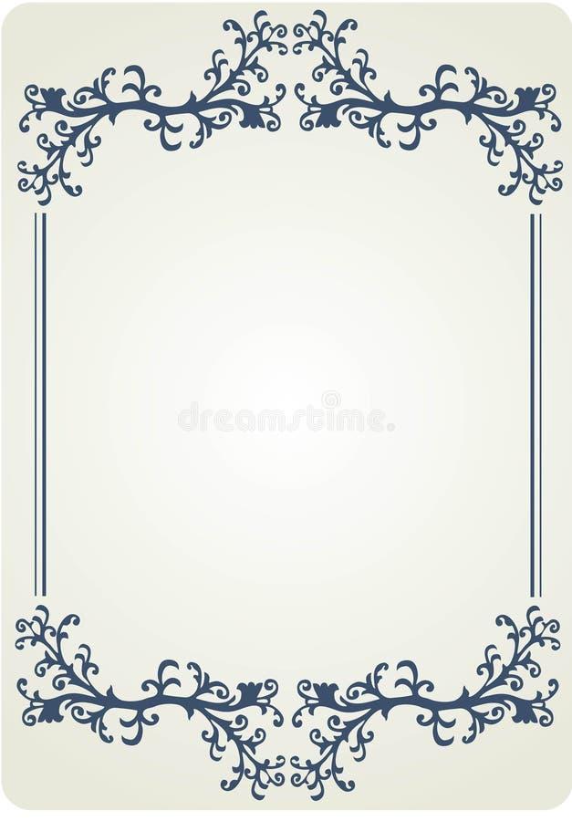 Patten frame_1 стоковые изображения