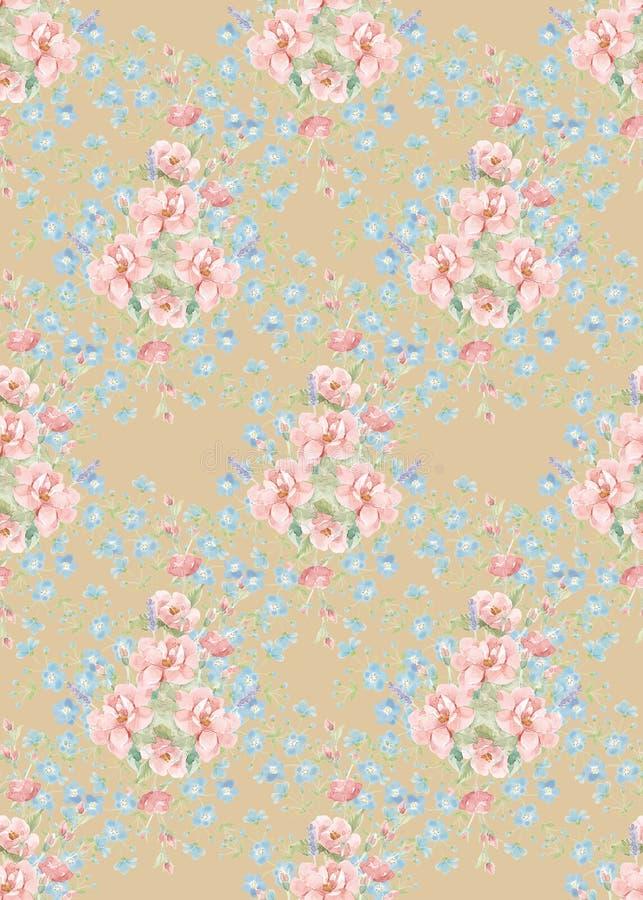 Pattern-033 inconsútil stock de ilustración