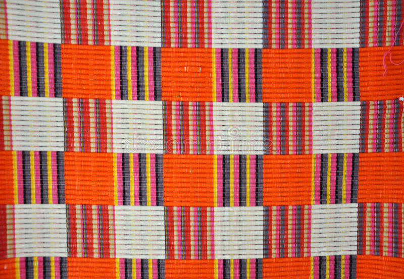 Pattern. Colorful detail of retro fabric pattern stock images