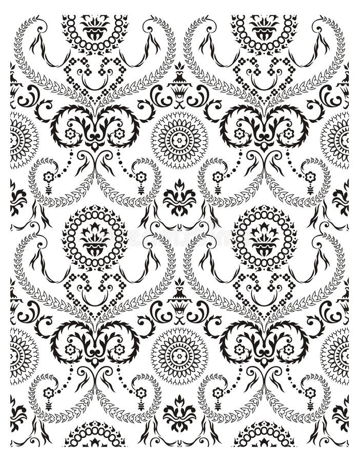 Download Pattern #2 stock vector. Illustration of floral, isolated - 23931973