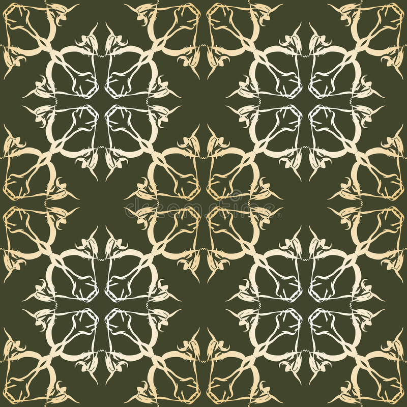 Download Pattern stock vector. Image of branches, leaf, illustration - 20680114
