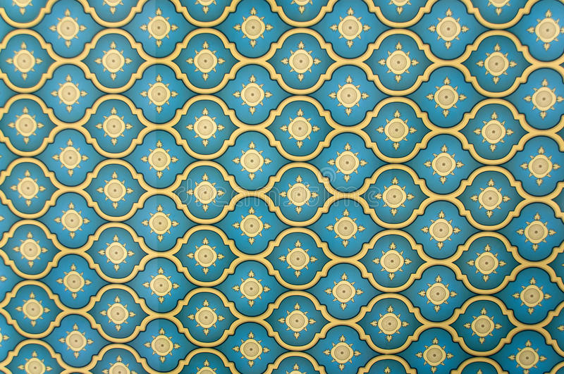 Pattern. Middle eastern wall paper pattern royalty free stock photo