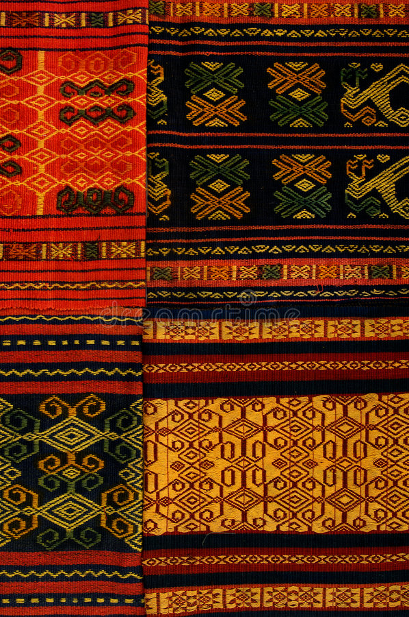 Pattern. A colorful Traditional embroidery pattern stock image